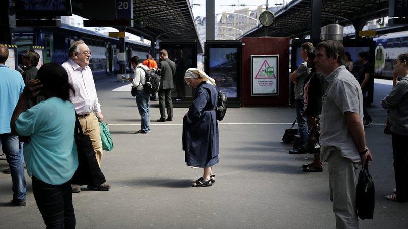 Paris: gare de l'Est paralysée par un obus de la Seconde guerre mondiale