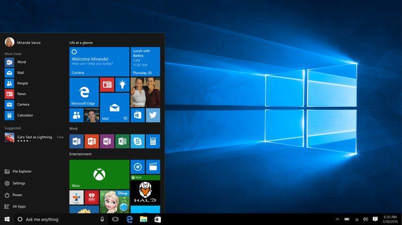 Informatique: Windows 10 fâche les protecteurs de nos données