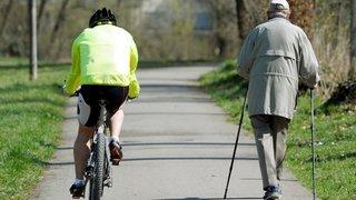 Santé: un exercice modéré est bénéfique pour les seniors, quel que soit leur état de santé